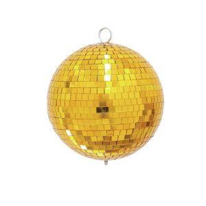 Glob de oglinzi Eurolite 20cm auriu