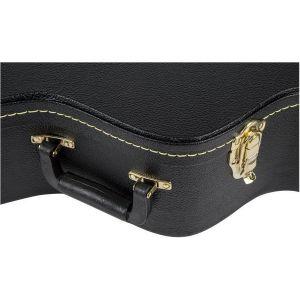 Gretsch G6302 Extra Long Jumbo (12 String) Flat Top Case Black