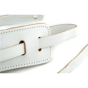 Gretsch Vintage Leather Straps Vintage White