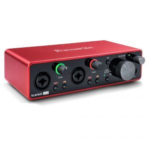 Interfata audio Focusrite Scarlett 2i2 3rd Gen