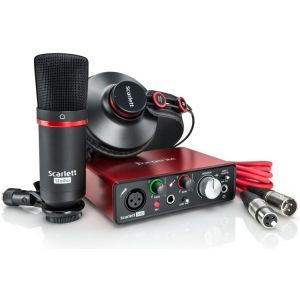Interfata audio Focusrite Scarlett Solo Studio Pack 3rd Gen