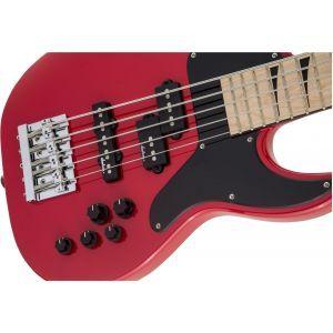 Jackson X Series Concert Bass CBXNT V MAH Fiesta Red