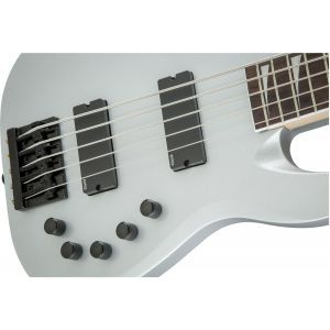 Jackson X Series Signature David Ellefson Concert Bass CBX V Quicksilver