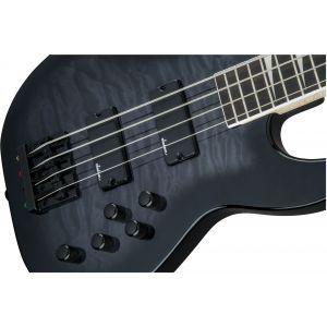 Jackson JS Series Concert Bass JS3Q Transparent Black Burst