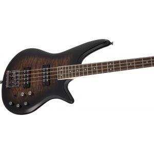 Jackson JS Series Spectra Bass JS3Q Dark Sunburst