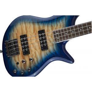 Jackson JS Series Spectra Bass JS3Q Amber Blue Burst