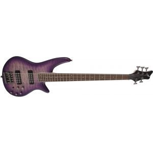 Jackson JS Series Spectra Bass JS3QV Purple Phaze