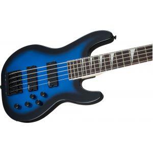 Jackson JS Series Concert Bass JS3V Metallic Blue Burst