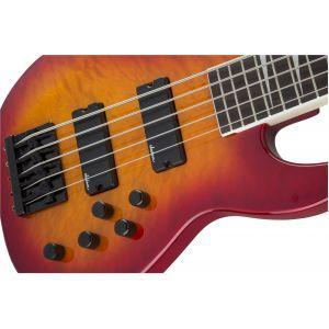 Jackson JS Series Concert Bass JS3VQ Cherry Burst