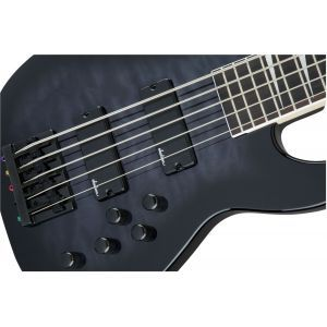 Jackson JS Series Concert Bass JS3VQ Transparent Black Burst
