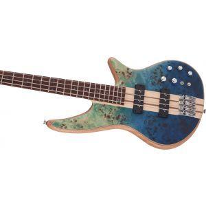 Jackson Pro Series Spectra Bass SBP IV Caribbean Blue