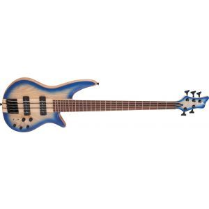 Jackson Pro Series Spectra Bass SBA V Blue Burst