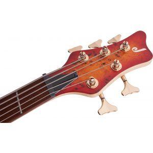Jackson Pro Series Spectra Bass SBP V Cherry Burst