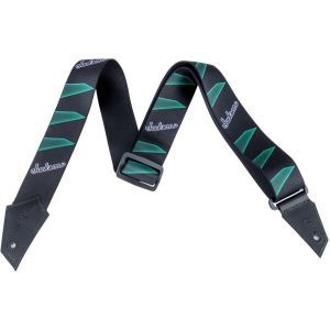 Jackson Strap with Headstock Pattern Black and Green