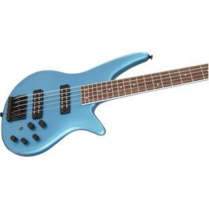 Jackson X Series Spectra Bass SBX V Electric Blue