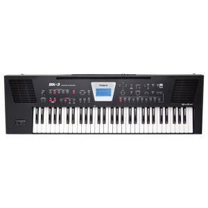 Set Keyboard Roland Roland BK 3 B SET 1