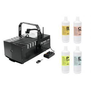Masina de Fum Eurolite Set Dynamic Fog 1500 + fluids