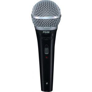 Microfon cu fir Shure Pg58