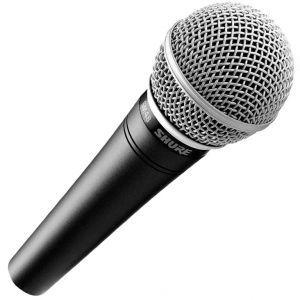 Microfon Cu Fir Shure SM 48 LC