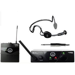 AKG WMS40 with mic AKG C 544 L