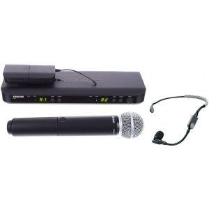 Microfon fara fir Shure BLX1288/SM35 Combo S8