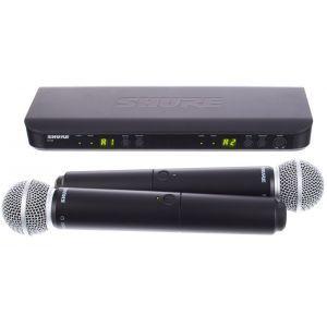 Microfon Fara Fir Shure BLX288/SM58 Combo T11