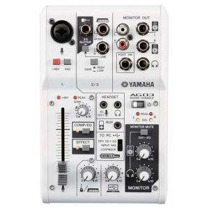 Mixer analog Yamaha AG03 cu interfata audio USB 2 0