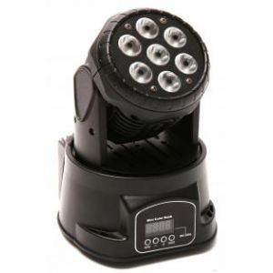 Moving head Varytec Led Easy Move XS Hp Wash 7X8W RGBW