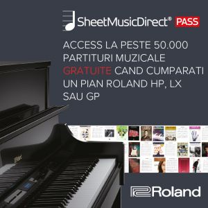 Campania Roland & Sheet Music Direct Pass