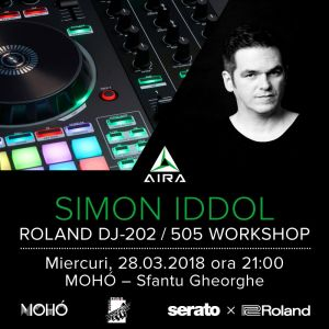 Roland DJ Workshop cu Simon Iddol
