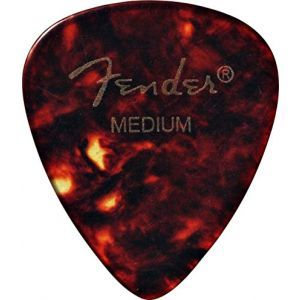 Fender Shell Pick 1 Gross Medium