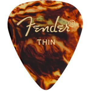 Fender Shell Pick 1 Gross Thin