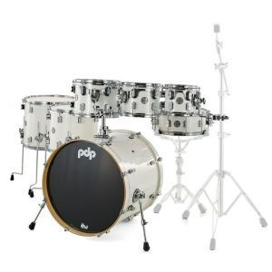 PDP by DW Concept Maple Pearlescent white