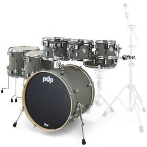 PDP by DW Concept Maple Satin Pewter