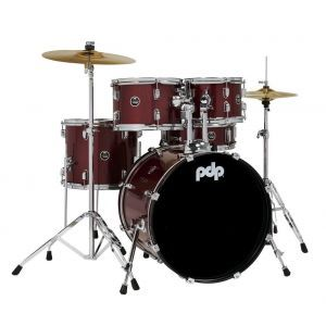 PDP by DW Centerstage Red Sparkle
