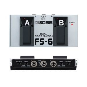 Pedala Dual Footswitch Boss Fs-6