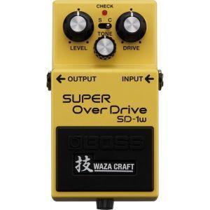 Pedala efect chitara Boss SD 1W Super Overdrive