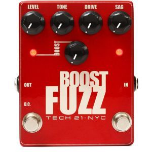 Tech 21 Boost Fuzz Metalic