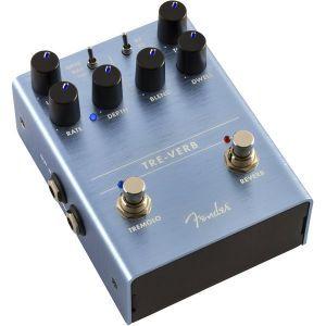Pedala efect chitara Fender Tre-Verb Tremolo/Reverb