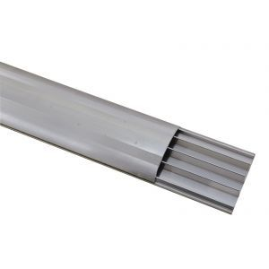 Pod pentru cabluri Eurolite Floor Cable Channel 75mm silver 4m