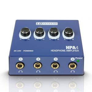 Preamplificator Casti LD Systems HPA 4