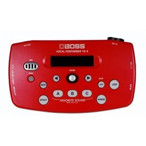 Procesor Voce Boss VE 5 Red