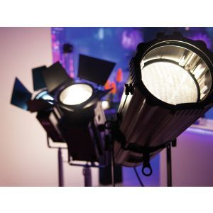 Set 4 Spoturi Teatru Eurolite Led THA 250F + Case