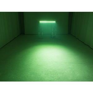 Set bara leduri 4x Eurolite LED BAR-12 QCL RGB+UV + Case