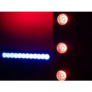 Set bare de leduri 4x Eurolite LED BAR-12 QCL RGBW + 2x husa + controler
