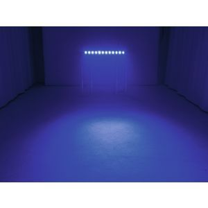 Set bare de leduri 4x Eurolite LED BAR-12 QCL RGBW + Case