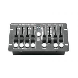 Set bare leduri 4x Eurolite LED BAR-6 QCL RGBW + husa + controler
