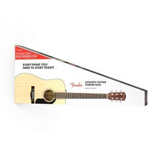 Set Chitara Acustica Fender CD 60S Dreadnought Natural