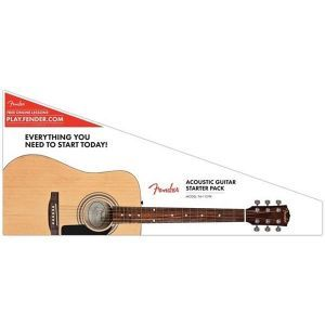 Set Chitara Acustica Fender FA-115 Acoustic Pack Natural