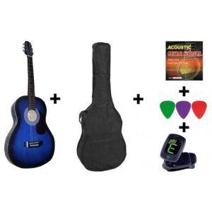 Hora Acoustic Guitar Standard Set 4/4 Blue